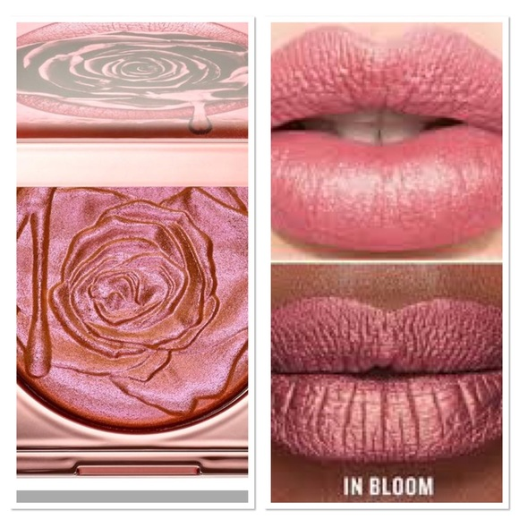 Sephora Other - Smashbox Petal Metal Highlighter& Lipsticks